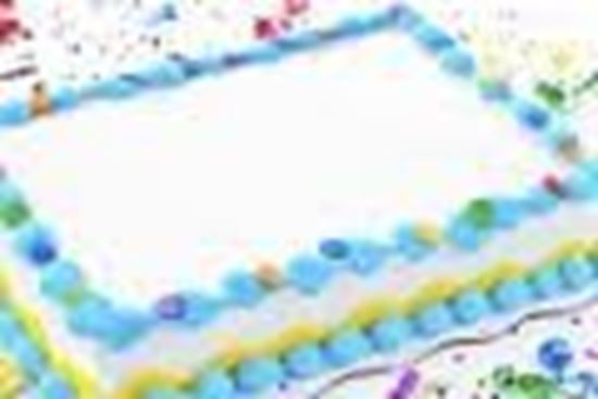 Picture of Half Sheet Cake